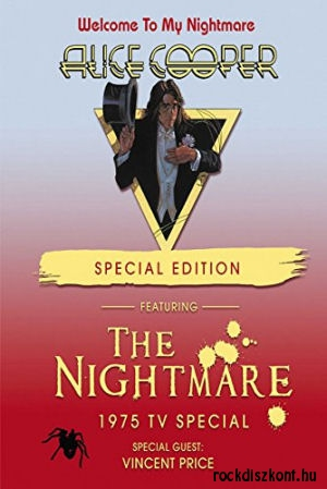 Alice Cooper - Welcome To My Nightmare + The Nightmare 1975 TV special (Special Edition) DVD