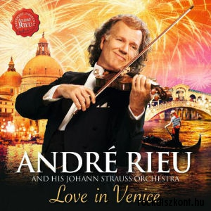 Andre Rieu and His Johann Strauss Orchestra - Love in Venice CD