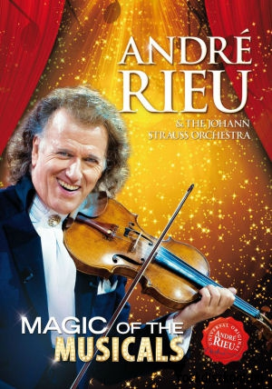 Andre Rieu & The Johann Strauss Orchestra - Magic of the Musicals DVD