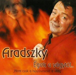 Aradszky László - Égek a vágytól CD