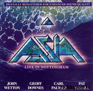 Asia - Live in Nottingham CD
