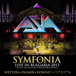 Asia - Symfonia - Live In Bulgaria 2013 - with The Plovdiv Opera Orchestra (Vinyl) 2LP