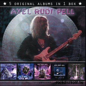 Axel Rudi Pell - 5 Original Albums In 1 Box (5CD)