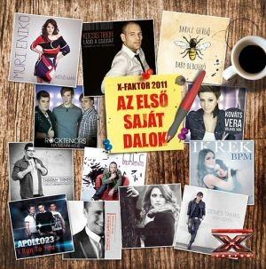 Az első saját dalom - X-Faktor 2011 CD