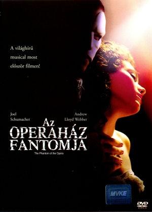 Az Operaház fantomja (The Phantom Of The Opera) DVD