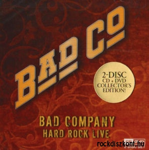 Bad Company - Hard Rock Live (Collectors Edition) CD+DVD
