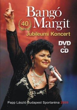 Bangó Margit - 40 év Jubileumi Koncert DVD+CD
