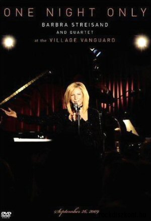 Barbra Streisand & Quartet at the Village Vanguard - One Night Only DVD