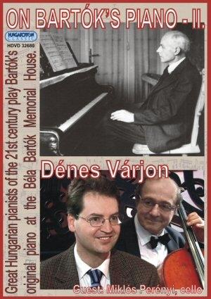 Bartók zongoráján II. DVD