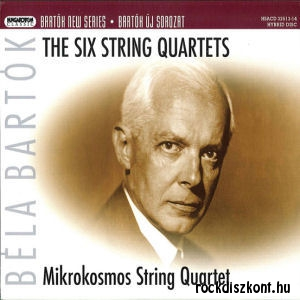 Bartók Béla: The 6 String Quartets 2SACD