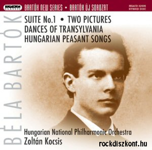 Bartók Béla - Suite No 1 + Two Pictures SACD