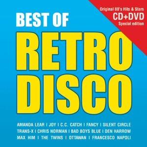 Best of Retro Disco - Original 80s Hits & Stars CD+DVD