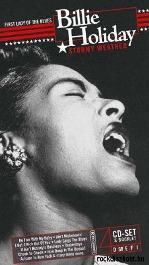 Billie Holiday - Stormy Weather (Box Set) 4CD