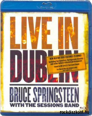 Bruce Springsteen with The Sessions Band - Live in Dublin BD (Blu-ray Disc)