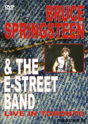 Bruce Springsteen & The E-Street Band - Live In Toronto DVD