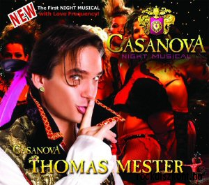 Casanova Night Musical - Casanova: Thomas Mester CD