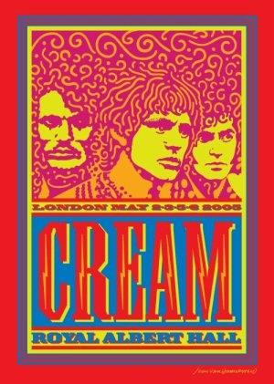Cream - Royal Albert Hall - London May 2-3-5-6 2005. - 2DVD