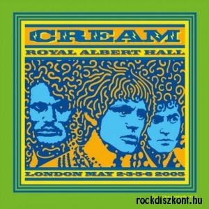 Cream - Royal Albert Hall London May 2-3-5-6 2005 (2014 Remaster Box Set) 3LP