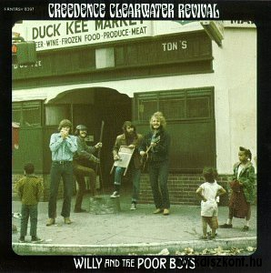 Creedence Clearwater Revival - Willy and the Poor Boys (Vinyl) LP