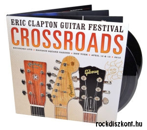 Eric Clapton Guitar Festival - Crossroads - Madison Square Garden April 12 & 13. 2013 - 4LP