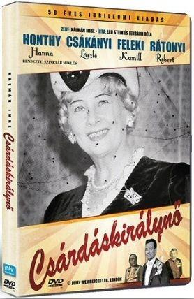 Csárdáskirálynő (50 éves jubileumi kiadás) DVD