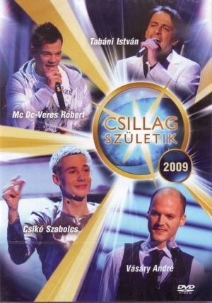 Csillag Születik 2009 DVD