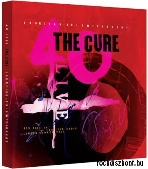 The Cure - 40 Live - Cureation - 25 + Anniversary Deluxe Set (2 Blu-ray + 4 CD)