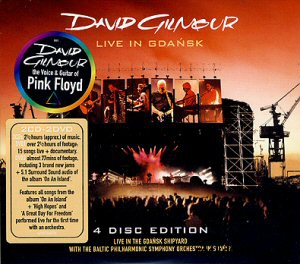 David Gilmour - Live in Gdansk (Limited Edition) 2CD+2DVD
