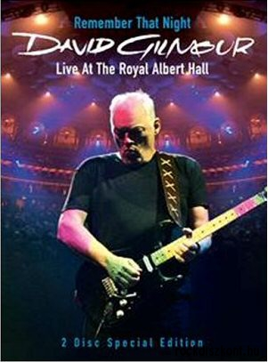 David Gilmour - Remember That Night - Live at the Royal Albert Hall (Special Edition) 2DVD