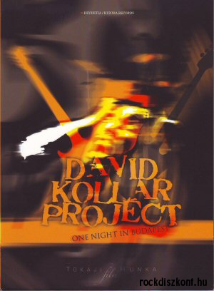 David Kollar Project - One Night in Budapest DVD