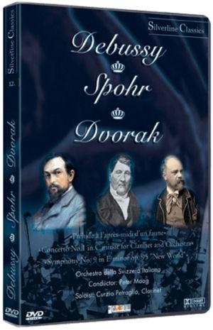 Debussy: Prélude á L'aprés / Spohr: Concerto No. 1. / Drovák: Symphony No. 9 - DVD
