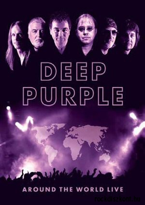Deep Purple - Around the World Live 4DVD+könyv