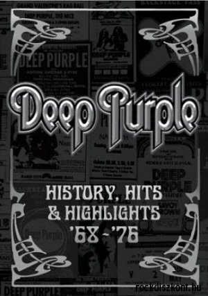 Deep Purple - History, Hits And Highlights 68-76 2DVD