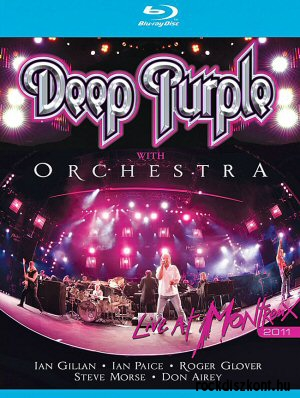 Deep Purple with Orchestra - Live at Montreux 2011 BD (Blu-ray Disc)