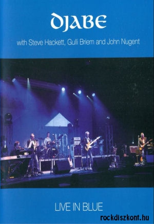 Djabe - Live in Blue - with Steve Hackett, Gulli Briem and John Nugent DVD