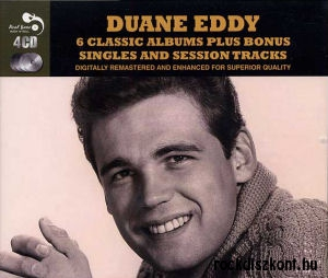 Duane Eddy - 6 Classic Albums Plus Bonus Singles and Session Tracks 4CD