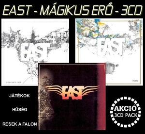 East - Mágikus erő 3CD Akciós Pack