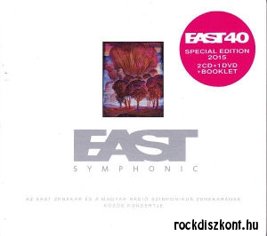 East - Symphonic - Az East zenekar és a Magyar Rádió Szimfonikus Zenekarának közös koncertje 2CD+DVD