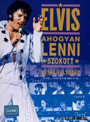 Elvis - Ahogyan lenni szokott (Thats the Way It Is) DVD