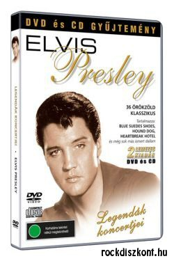 Elvis Presley - Legendák koncertjei DVD + CD