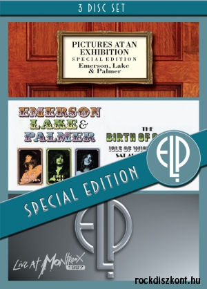 Emerson Lake & Palmer - Pictures At An Exhibition / Birth Of A Band / Live At Montreux 3DVD