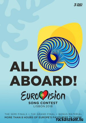 Eurovision Song Contest Lisbon 2018 - All Aboard! - Various Artists 3DVD