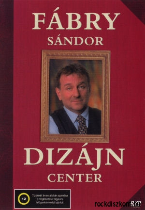 Fábry Sándor - Dizájn Center DVD