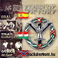 Flags Of Victory - volume 1. - Odal - Titkolt Ellenállás - Operation Racewar CD