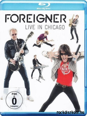 Foreigner - Live In Chicago Blu-ray