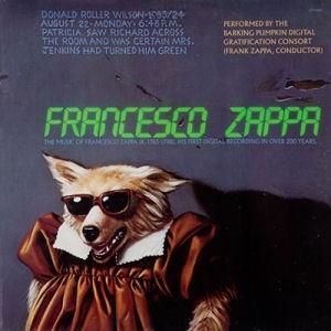 Frank Zappa - Francesco Zappa CD