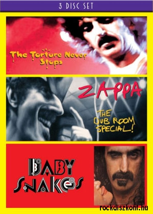 Frank Zappa - The Torture Never Stops / The Dub Room Special / Baby Snakes 3DVD