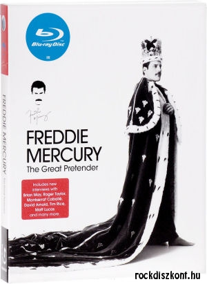 Freddie Mercury - The Great Pretender (Blu-ray)
