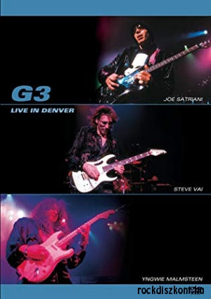 G3 - (Satriani, Vai, Malmsteen) Live in Denver DVD