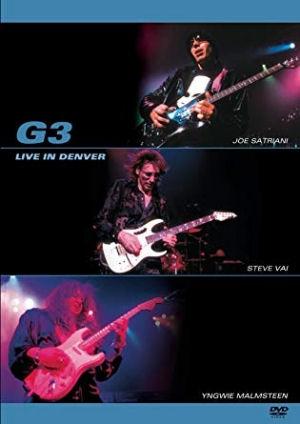 G3 - (Satriani, Vai, Malmsteen) Live in Denver DVD
